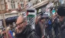 Yüzyıllık Balfour deklarasyonu Londra'da protesto edildi