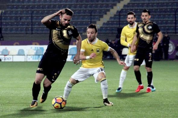 Osmanlıspor Fenerbahçe maçından kareler