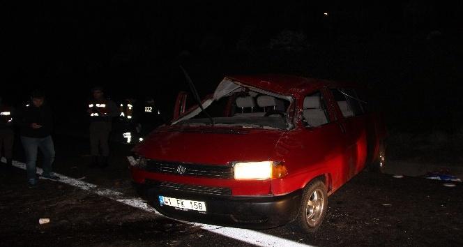 Tem otoyolunda feci kaza: 1 ölü 6 yaralı