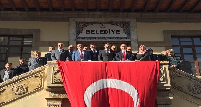 AK Parti Yerel Yönetimler Başkan Yardımcısı Geldi, Çorum'da