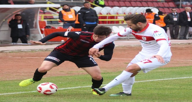 TFF 1. Lig: Boluspor: 1 - Samsunspor: 0