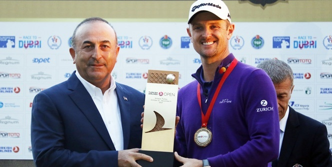 Turkish Airlines Open 2017 Golf Turnuvası sona erdi