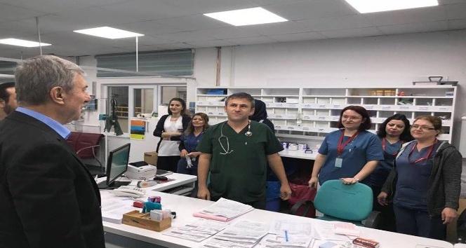 Sağlık Bakanı Demircan'dan 'çat kapı' hastane ziyareti