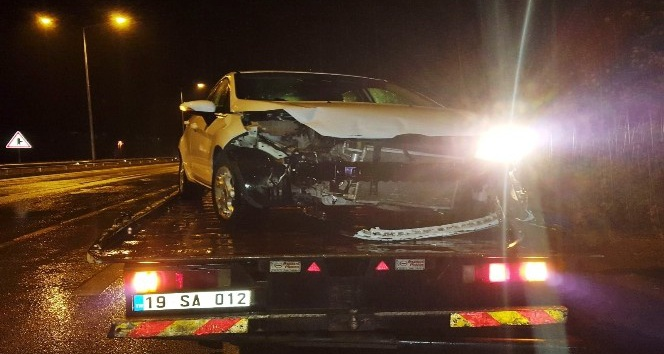 Sungurlu'da 3 ayrı kaza: 5 yaralı