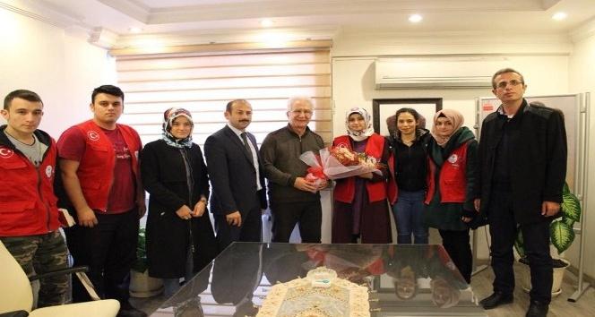 Gençlik merkezinden Kızılay'a ziyaret