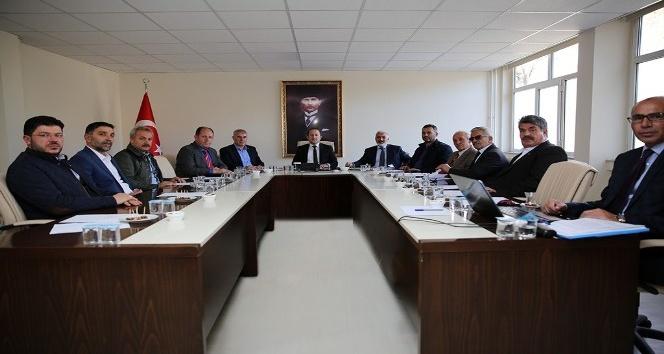 OSB toplantısı Vali Ali Hamza Pehlivan başkanlığında gerçekleştirildi