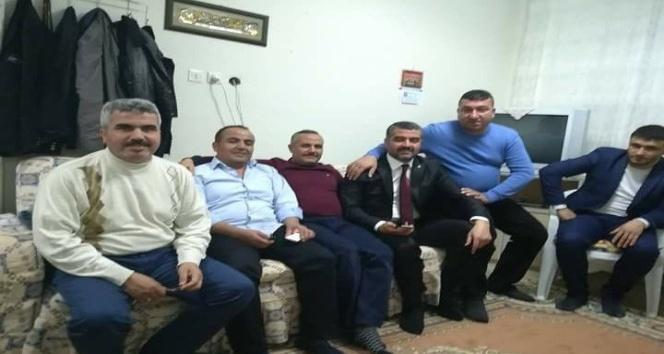MHP İl Başkanlığı'na Seçilen Avşar baba ocağında