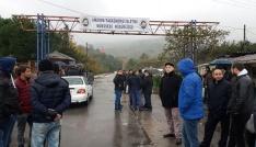 Amasradaki maden işçilerin eylemi devam ediyor