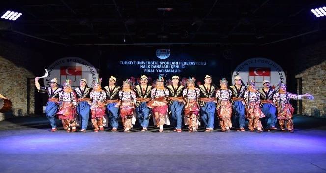 Düzce Üniversitesi Halk Oyunları Topluluğu başarılarıyla ses getiriyor