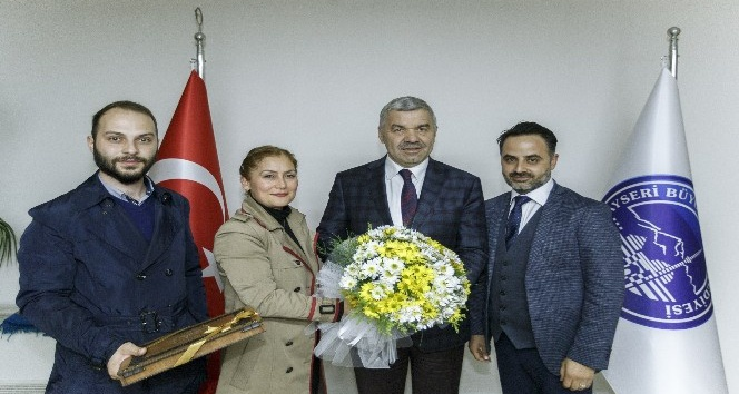 AK Parti Teşkilatlarından Başkan Çelik'e ziyaret