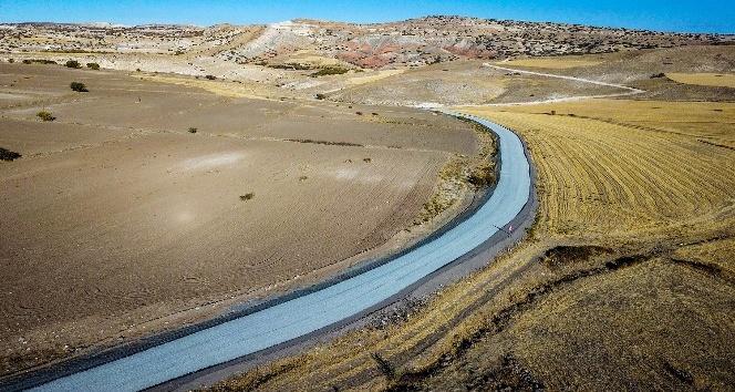 Arguvan-Arapgir grup yolu asfaltlanıyor