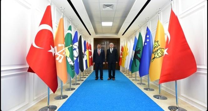 Başkan Polat'ta, Battalgazi'ye hayırlı olsun ziyareti