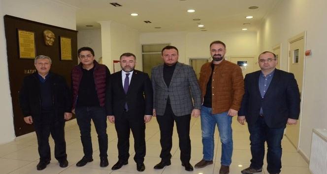 İl Başkanı Keskin, iş adamlarını ziyaret etti