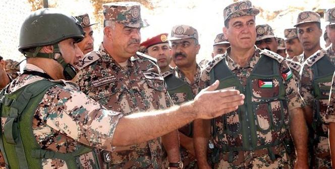 Ürdün Topçu Birlikleri ABD ile ortak askeri tatbikat yaptı