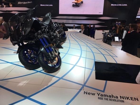 EICMA 2017'de Yamaha 2018 modellerini sergiledi