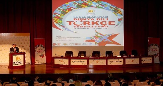 9. Uluslararası Dünya Dili Türkçe sempozyumu sona erdi