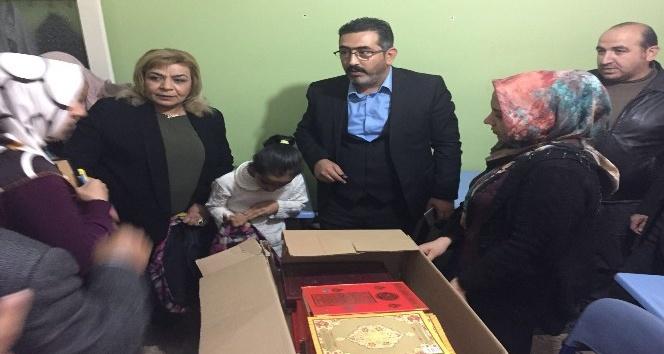 AK Parti Bağlar İlçe Başkanı Gezer'den Kur'an kursu öğrencilerine yardım