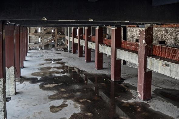 AKM'nin yıkılmadan önceki son hali görüntülendi