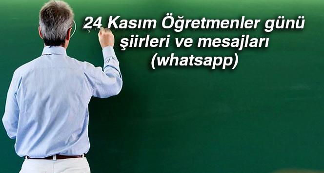 24 Kasım Öğretmenler günü şiirleri ve mesajı resimli (whatsapp)
