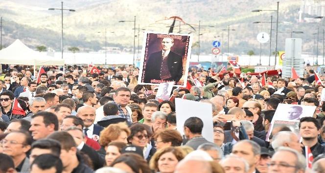 İzmirliler Ulu Önder için yürüyecek