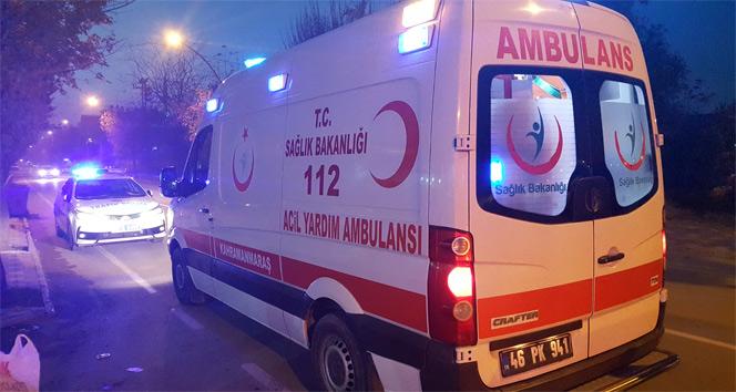 Hareket halindeki otobüsten düşen kadın yaralandı