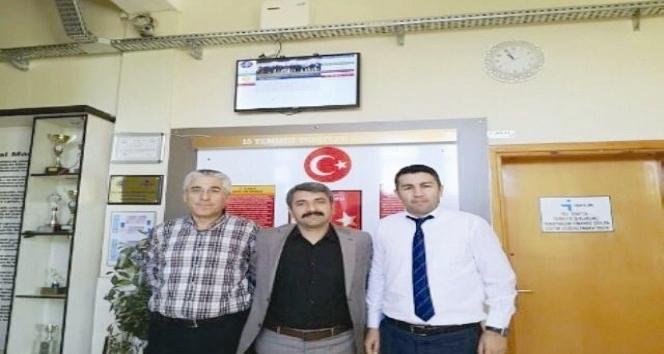 Sungurlu'da dijital pano projesi uygulanmaya başlandı