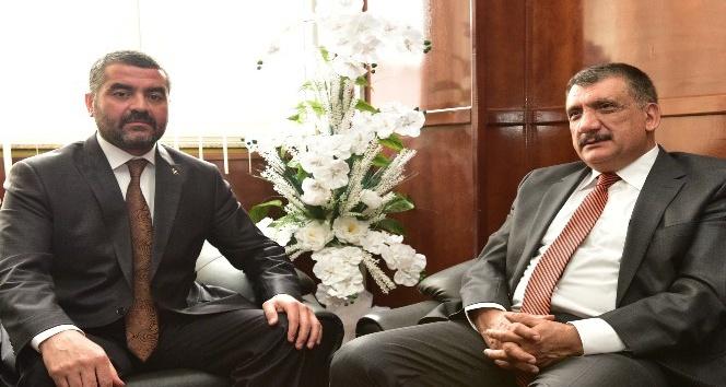 Başkan Gürkan'dan MHP İl Başkanı Avşar'a hayırlı olsun ziyareti