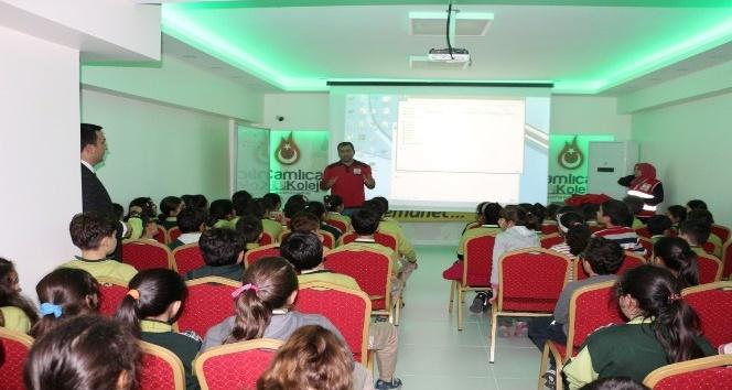 Çamlıca Okullarında Kızılay Haftası kutlandı