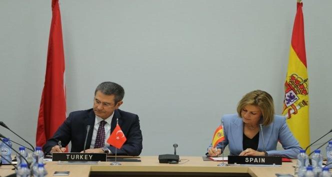Türkiye ile İspanya arasında iyi niyet beyanı imzalandı
