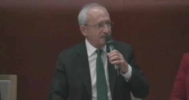 Kemal Kılıçdaroğlu Avrupa Komisyonunda konuştu