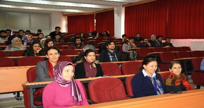 DÜ'de 'Kent ve iklim değişikliği' konulu seminer