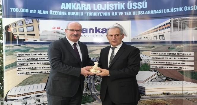 """ATO Başkanı Baran: """"Ankara lojistikle Türkiye'yi dünyaya taşır"""""""