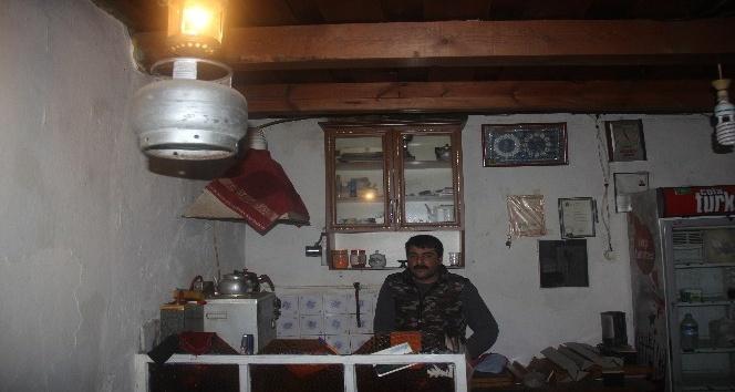 Artvin'in Yusufeli ilçesi Yokuşlu köyünün elektrik çilesi