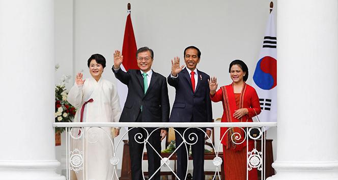 Güney Kore Devlet Başkanı Jae-in, Endonezyada