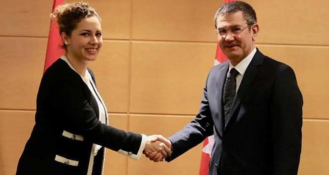 Milli Savunma Bakanı Canikli, Arnavut Bakan Xhaçka ile görüştü