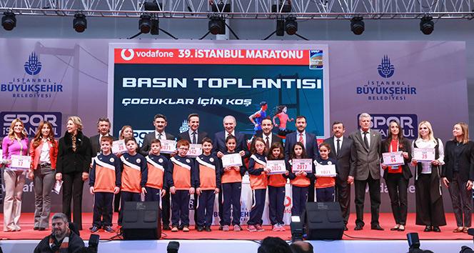 39. Vodafone İstanbul Maratonunun basın toplantısı yapıldı