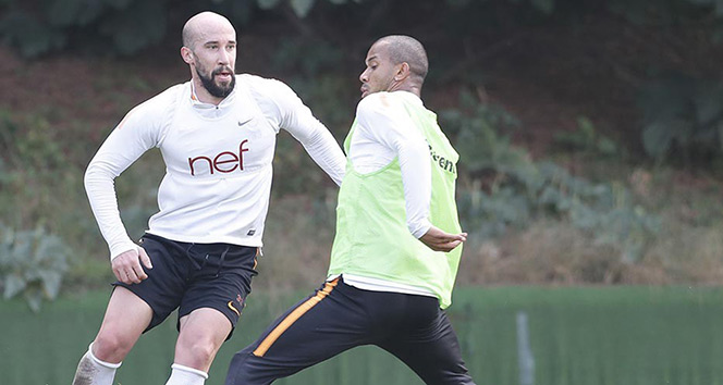 Galatasaray, Medipol Başakşehir hazırlıklarını sürdürdü