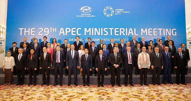 APEC liderler toplantısı tema parkın açılmasıyla başladı
