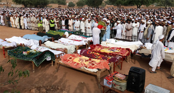 Pakistanda kaza: 26 ölü, 50 yaralı