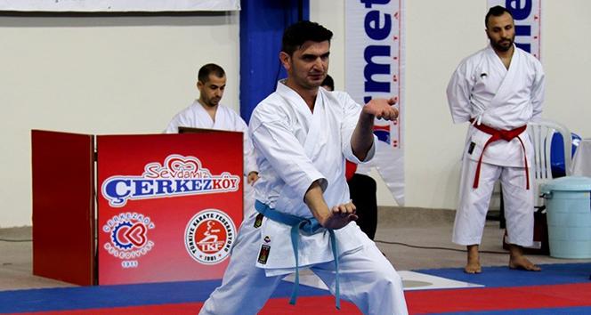 Türkiye Karate Şampiyonası Çerkezköyde başladı
