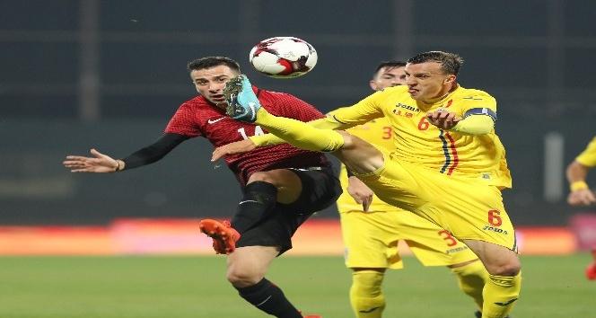 Hazırlık maçı: Romanya: 2 - Türkiye: 0 (Maç sonucu)
