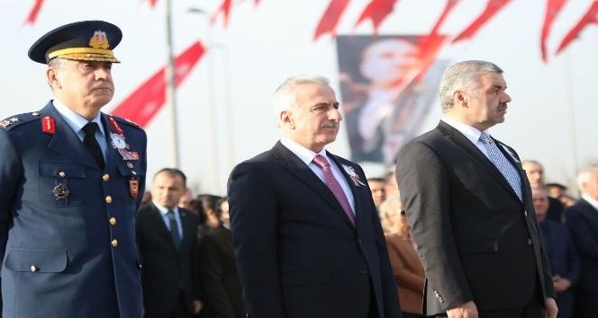 Atatürk, ölümünün 79. Yıldönümünde Kayseri'de anıldı
