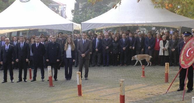 Akçakoca'da Atatürk'ü Anma Programı  düzenlendi