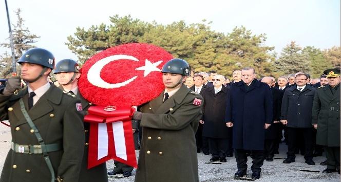 Atatürk'ün ebediyete intikalinin 79. yıl dönümü nedeniyle Anıtkabir'de tören
