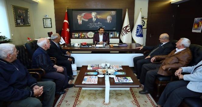 KKTC'li dernek üyelerinden 15 Temmuz'un izlerini görmek için Ankara'ya ziyaret