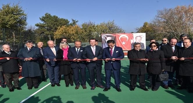 Esenboğa Havalimanı'nda çalışanlar için spor tesisi açıldı