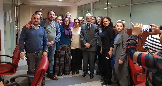 Başkan Tuna, Alo 153 Mavi Masa'yı ziyaret etti