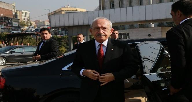 KKTC Cumhurbaşkanı Akıncı ile Kılıçdaroğlu'ndan Baykal'a ziyaret