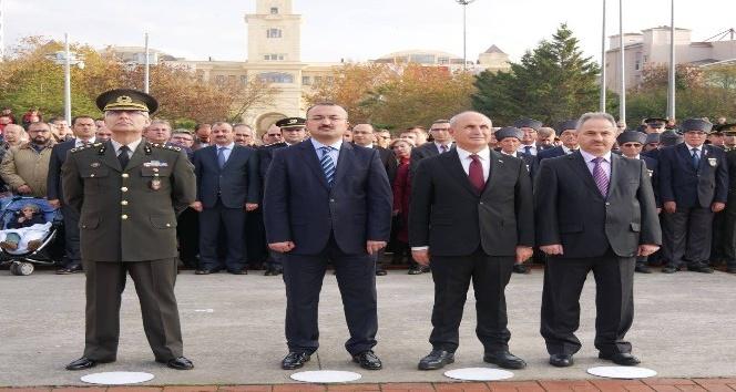 Atatürk, Büyükçekmece'de de anıldı