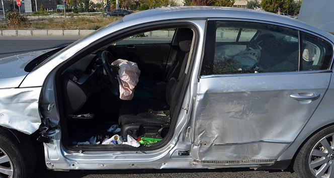 Sökede trafik kazası: 3 yaralı
